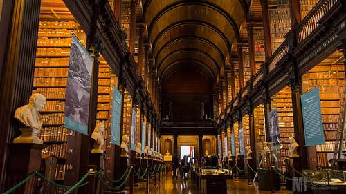 Trinity College - old Library 1