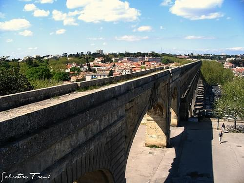 Aqueduct - Montpellier - France