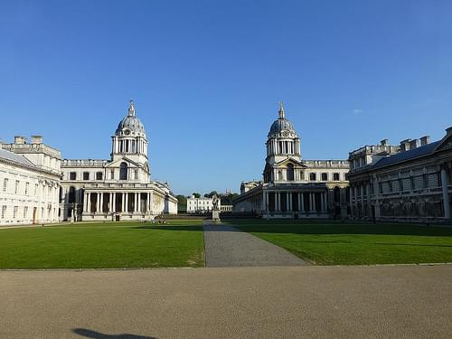 The Old Royal Naval College in Greenwich (London 2013)