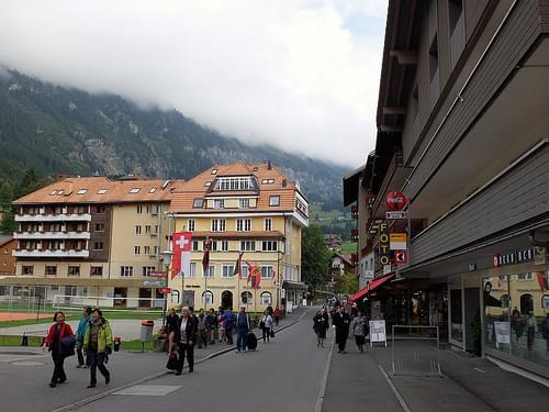 Wengen: The Main Street