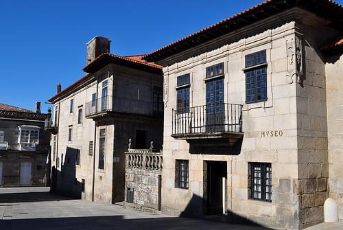 Casa Castro Monteagudo, Musée provincial, plaza de Lena, Pontevedra, Galice, Espagne.