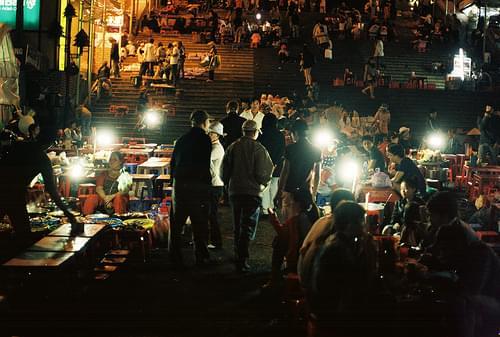 Chợ đêm Đà Lạt, 4/2013
