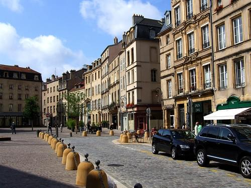 Historic Center, Metz