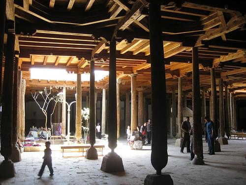 076G Khiva, Juma Mosque