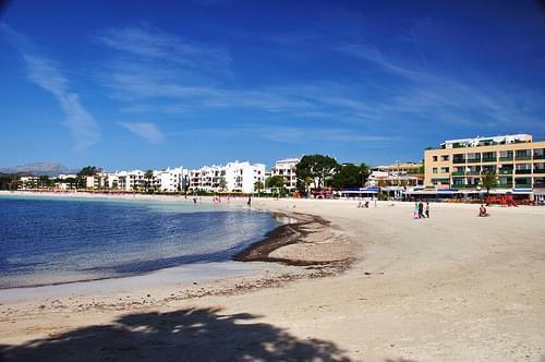 The Beach of Alcudia
