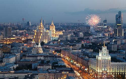 Moscow Summer Night