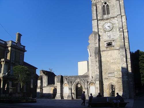 Holy Rood Church Ruins