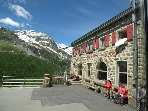 Bernina Express - Alp Grum Station