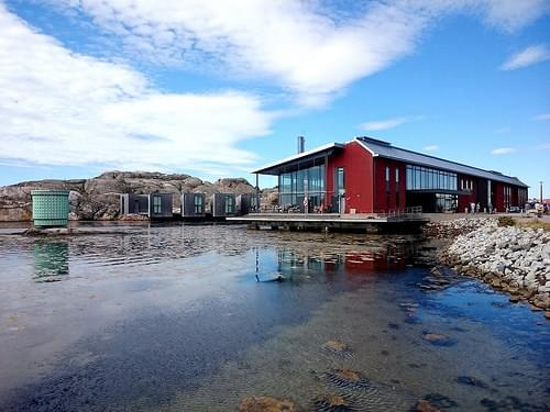 Nordic Watercolour Museum on Skarhamn on Sweden's west coast