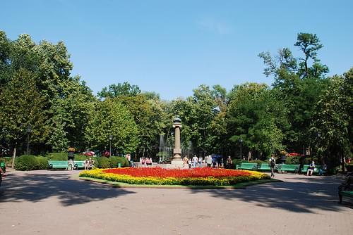 Stefan cel Mare Central Park, Chisinau, Moldova