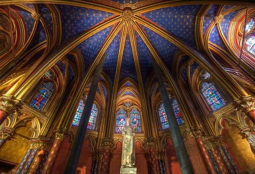 Sainte-Chapelle, Lower Chapel, Paris