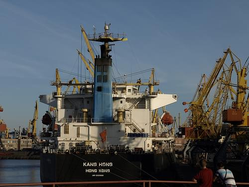Odesa port
