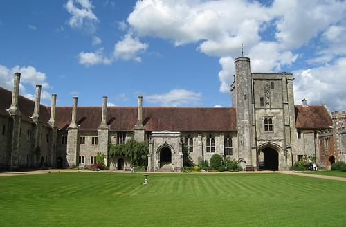 The Hospital of St Cross and Almshouse of Noble Poverty, Winchester, Hampshire, England