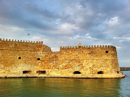 Aza Koules - the Venetian castle in the harbour of Heraklion