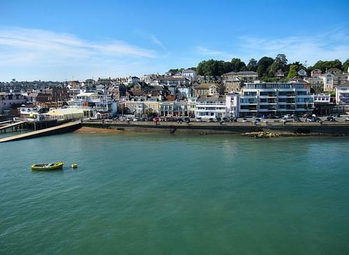 COWES SEAFRONT. ISLE OF WIGHT. UK. 2