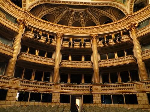 Le Grand-Théâtre, Bordeaux, Gironde, Aquitaine, France.