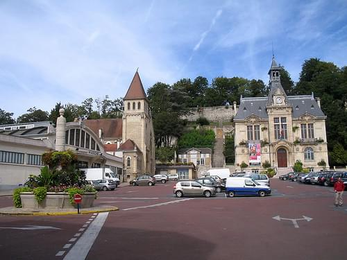 Town Center, Chateau Thierry