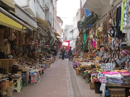 Amasra bazzar street