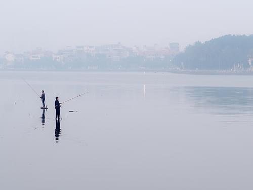 Fishing in the West Lake