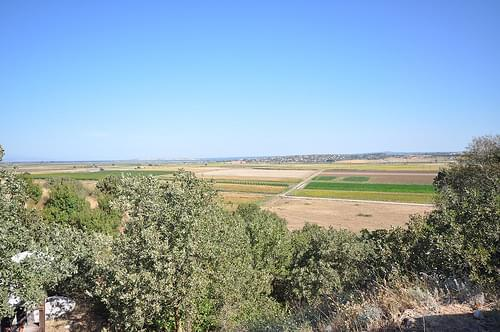 View of surrounding plains - Troy