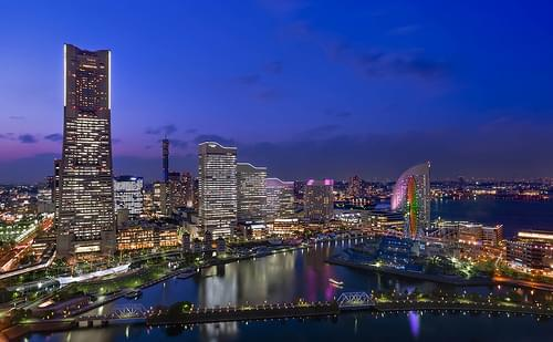 Yokohama by night
