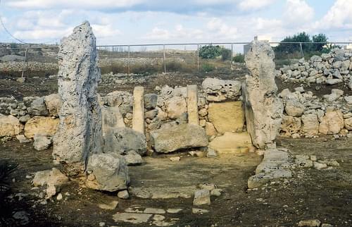 Malta. Skorba Prehistoric Temple & Village