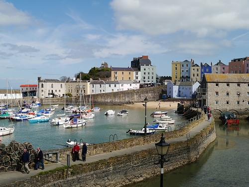Harbor and Seafront, Tenby