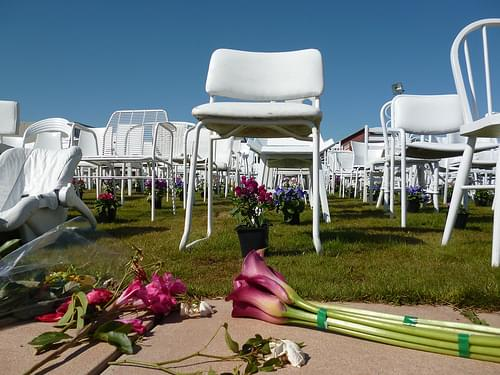 185 Chairs Earthquake Memorial, Christchurch