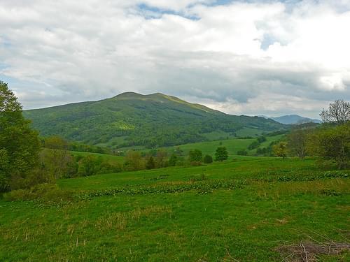 J16 Carpathian landscape, Bieszczady National Park