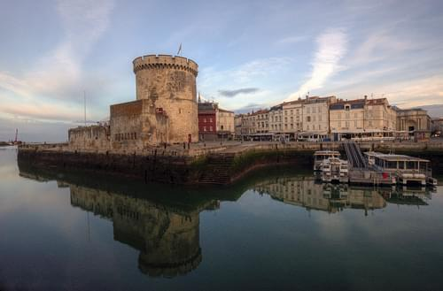 morning light in la rochelle