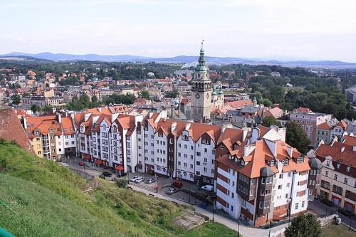 Klodzko/view from the fortress
