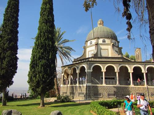Church of Mt. Beatitudes
