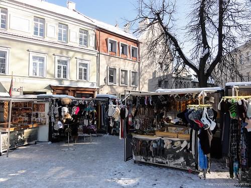 Kiosk on Pilies street