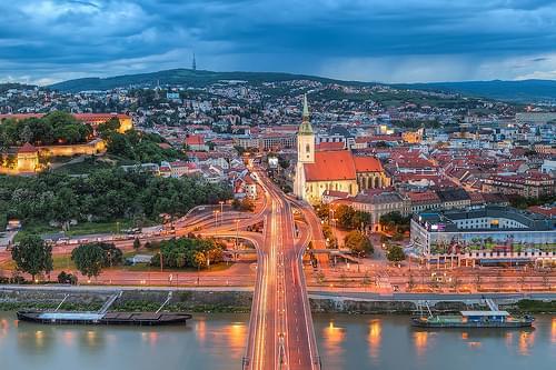 Center of Bratislava
