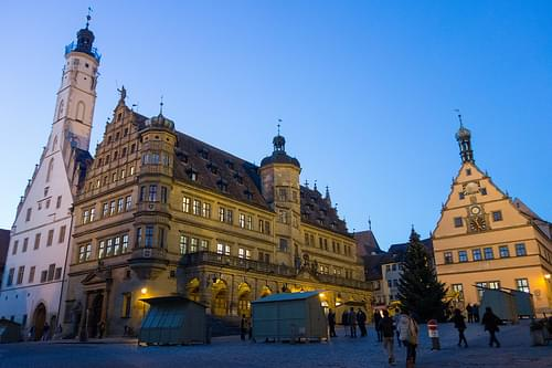 Town Hall at Rothenburg ob der Tauber