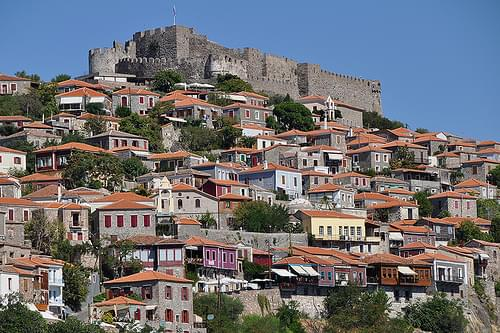 Molyvos - Fortress and Houses