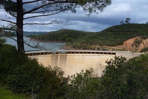 Portugal, Barragem do Bravura dam