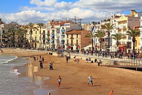 Playa San Sebastian, Sitges