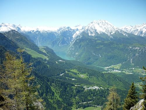 Berchtesgadener Alpen mit Kehlsteinhaus Juni 2010_015