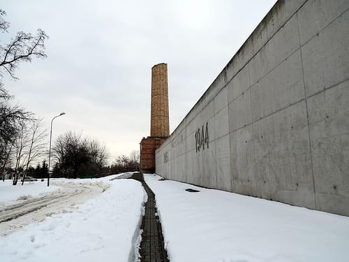 Radegast railway station Holocaust memorial - Radogoszcz - Łódź, Poland