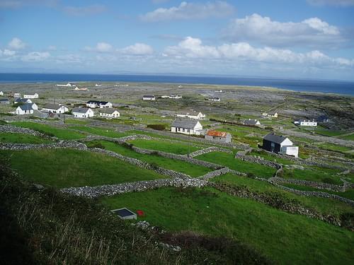 Inis Méain: paisatge