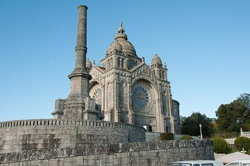 Church of Santa Luzia, Viana do Castelo