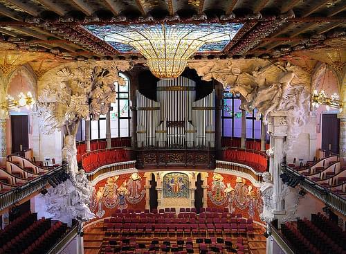 Interior - Palau de la Musica de Catalana