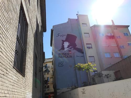 Hacia el museo Ibercaja Camón Aznar