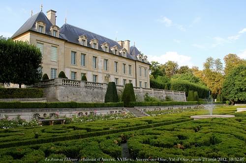 Le Jour ni l'Heure 9643 : château d'Auvers-sur-Oise, 1635, Val-d'Oise, Île-de-France, jeudi 23 août 2012, 18:32:07