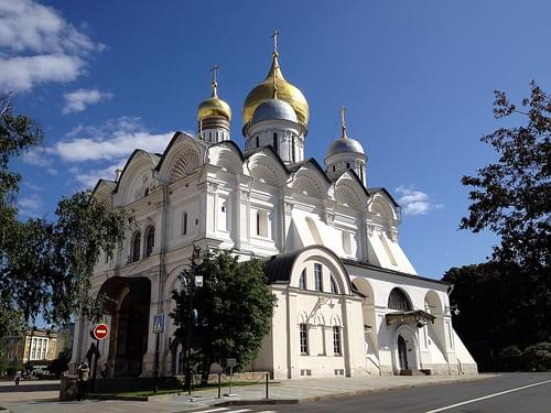 Kremlin - Cathedral of the Archangel Michael