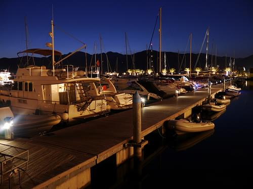 Porto Montenegro at night