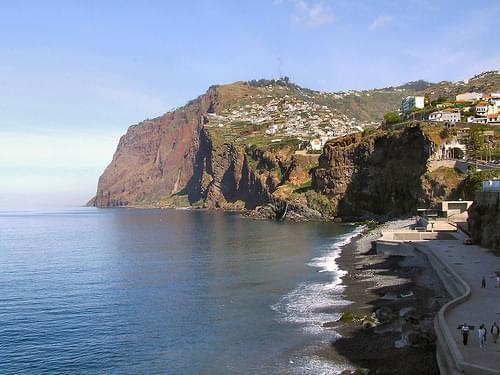 Madeira - Cabo Girao - from Camara De Lobos