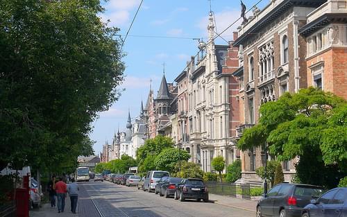 Zurenborg, Antwerp, Belgium