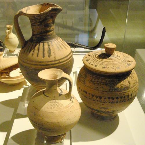 Protogeometric pottery from Hermione